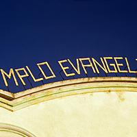 Americas, Central America, Guatemala. Temple Evangelico.