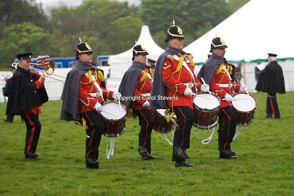 The Yorkshire Volunteers Marching Band
