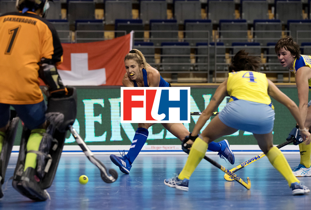 BERLIN - Indoor Hockey World Cup<br /> Women: United States - Kazakhstan<br /> foto: CAMPBELL Ali.<br /> WORLDSPORTPICS COPYRIGHT FRANK UIJLENBROEK
