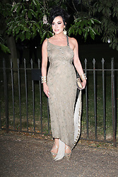 © London News Pictures. 26/06/2013. London, UK. Nancy Dell'Olio at  The Serpentine Gallery summer party, Kensington Gardens London UK, 26 June 2013, Photo credit: Richard Goldschmidt/LNP