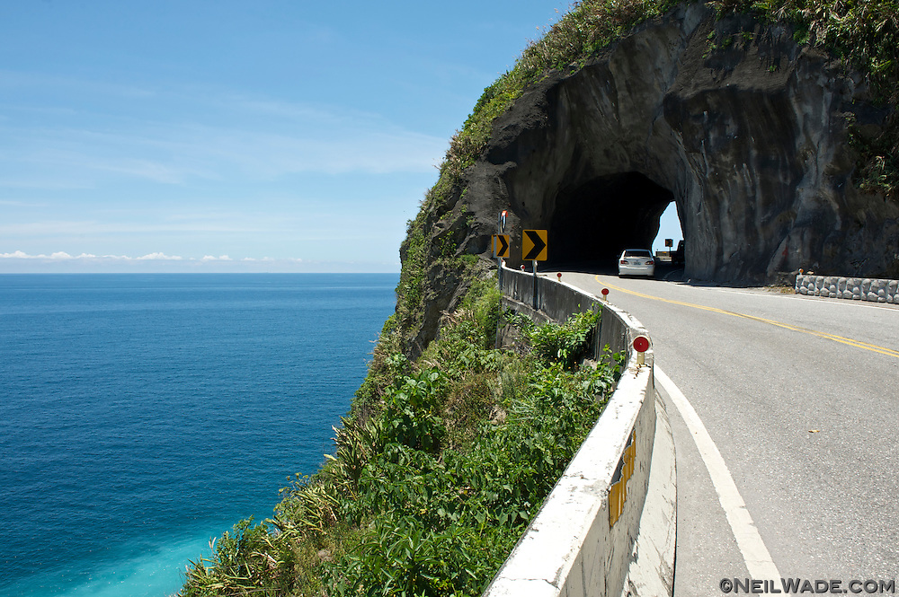 The Suhua Highway has stunning views of Taiwan's east coast.