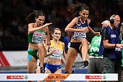 Emma Oudiou (FRA) competes in 3000m Steeplechase Women during the European Championships 2018, at Olympic Stadium in Berlin, Germany, Day 6, on August 12, 2018 - Photo Julien Crosnier / KMSP / ProSportsImages / DPPI