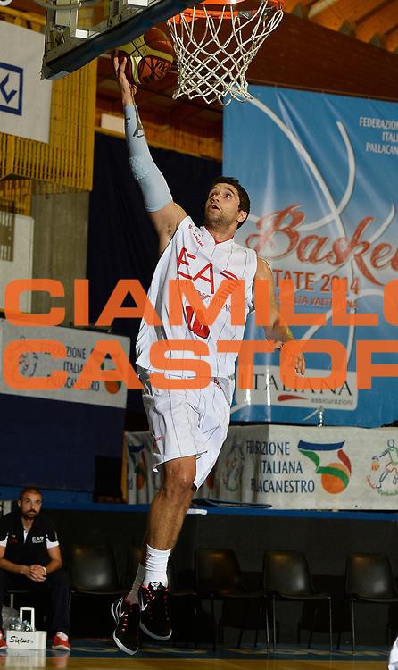 DESCRIZIONE : Bormio Lega A 2014-15 amichevole Ea7 Olimpia Milano - Pepinster<br /> GIOCATORE : Trent Meacham<br /> CATEGORIA : before pregame<br /> SQUADRA : Ea7 Olimpia Milano<br /> EVENTO : Valtellina Basket Circuit 2014<br /> GARA : Ea7 Olimpia Milano - Pepinster<br /> DATA : 09/09/2014<br /> SPORT : Pallacanestro <br /> AUTORE : Agenzia Ciamillo-Castoria/R.Morgano<br /> Galleria : Lega Basket A 2014-2015  <br /> Fotonotizia : Bormio Lega A 2014-15 amichevole Ea7 Olimpia Milano - Pepinster<br /> Predefinita :