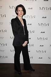 Myla CEO DIANE METCALFE at a party to celebrate the 10th anniversary of the Myla lingerie brand held at Almada, 17 Berkeley Street, London on 17th November 2010.
