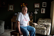 COLEMAN, WI-OCT. 26, 2016: Roger Pillath, 75, in his home in Coleman, WI Wed., Oct. 26, 2016. Lauren Justice for The New York Times