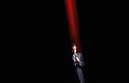 President hopeful Barack Obama speaks during a campaign appearance at the Apollo Theater in New York, New York.