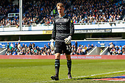 Queens Park Rangers goalkeeper Joe Lumley (13) during the EFL Sky Bet Championship match between Queens Park Rangers and Swansea City at the Loftus Road Stadium, London, England on 13 April 2019.