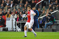 FOOTBALL - UEFA CHAMPIONS LEAGUE 2010/2011 - GROUP STAGE - GROUP G - AJAX AMSTERDAM v AJ AUXERRE - 19/10/2010 - PHOTO GUY JEFFROY / DPPI - MIRALEM SULEJMANI (AJAX)