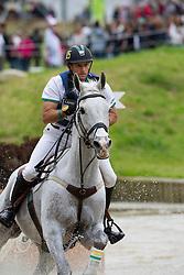 Stuart Tinney, (AUS), Pluto Mio - Eventing Cross Country test - Alltech FEI World Equestrian Games™ 2014 - Normandy, France.<br /> © Hippo Foto Team - Leanjo de Koster<br /> 30/08/14