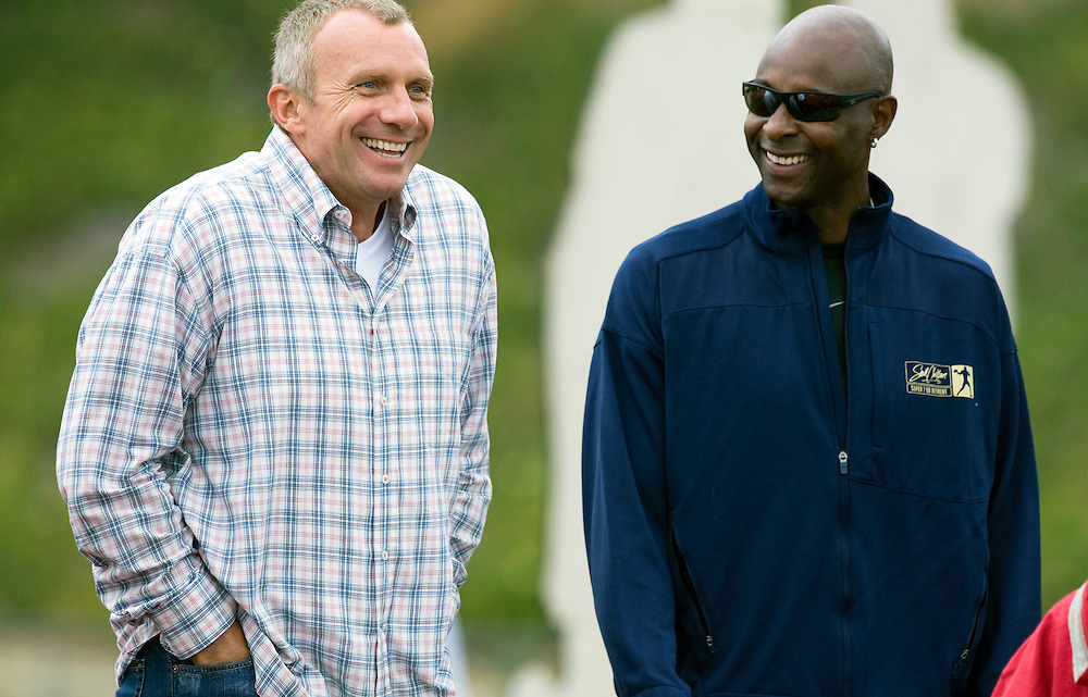 Joe Montana and Jerry Rice together. | Todd Bigelow ...