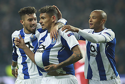 December 6, 2017 - Na - Porto, 06/12/2017 - Football Club of Porto received, this evening, AS Monaco FC in the match of the 6th Match of Group G, Champions League 2017/18, in Estádio do Dragão. Soares celebrates goal  (Credit Image: © Atlantico Press via ZUMA Wire)