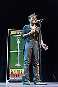 Lauryn Harris-Campbell, a contestant in The  Poetry Out Loud, Regional 5,  competition at SOPAC.