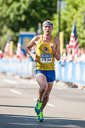Boston Athletic Association 10K road race: Dave Moyer