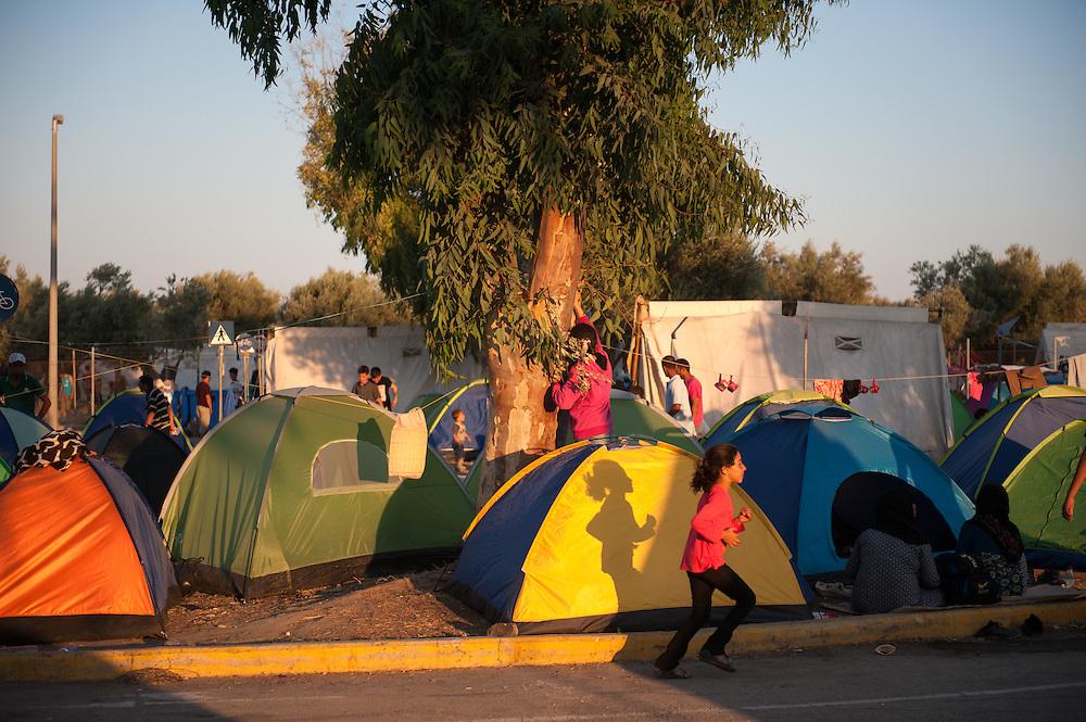 Kara Tepe camp.