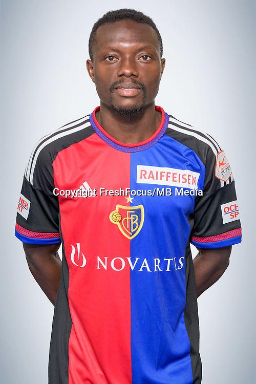 15.07.2016; Basel; Fussball Super League - FC Basel; Portrait; <br />Adama Traore (Basel) <br />(Sacha Grossenbacher/pool/freshfocus)