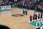 DESCRIZIONE : Treviso Lega A 2011-12 Umana Venezia EA7 Emporio Armani Milano<br /> GIOCATORE : Team Umana Venezia team EA7 Emporio Armani Milano<br /> SQUADRA : Umana Venezia EA7 Emporio Armani Milano<br /> EVENTO : Campionato Lega A 2011-2012 <br /> GARA : Umana Venezia EA7 Emporio Armani Milano<br /> DATA : 11/12/2011<br /> CATEGORIA : Before<br /> SPORT : Pallacanestro <br /> AUTORE : Agenzia Ciamillo-Castoria/G.Contessa<br /> Galleria : Lega Basket A 2011-2012 <br /> Fotonotizia : Treviso Lega A 2011-12 Umana Venezia EA7 Emporio Armani Milano<br /> Predfinita :