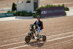 dr. Angelika Trabert,GER,<br /> Tryon - FEI World Equestrian Games™ 2018<br /> Siegerehrung Medaillenvergabe<br /> Para-Dressur Teamentscheidung<br /> 21. September 2018<br /> © www.sportfotos-lafrentz.de/Sharon Vandeput