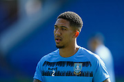 Sheffield Wednesday FC Defender Liam Palmer (2) portrait warming up before the EFL Sky Bet Championship match between Sheffield Wednesday and Watford at Hillsborough, Sheffield, England on 19 September 2020.
