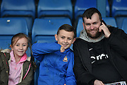Family of Bradford City Supporters during the The FA Cup third round match between Bury and Bradford City at Gigg Lane, Bury, England on 9 January 2016. Photo by Mark Pollitt.