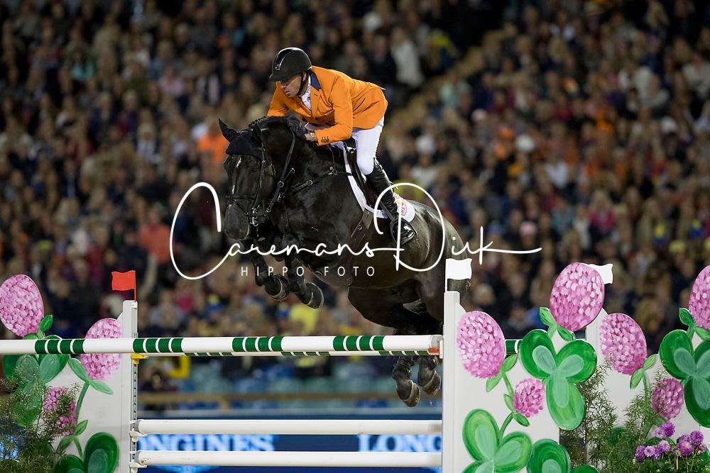 Vrieling Jur, NED, VDL Glasgow v Merelsnest<br /> FEI European Jumping Championships - Goteborg 2017 <br /> &copy; Hippo Foto - Dirk Caremans