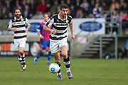 Forest Green Rovers Omar Bugiel(11) runs forward during the Vanarama National League match between Dagenham and Redbridge and Forest Green Rovers at the London Borough of Barking and Dagenham Stadium, London, England on 11 March 2017. Photo by Shane Healey.