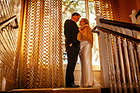 Laurie Trahan and Brad Haygood get married Jan. 22, 2011 in Houston at Brennan's. Goldleaf Pictures weddings gallery