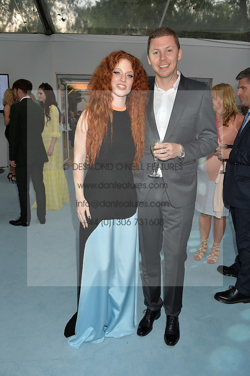 JESS GLYNNE and PROFESSOR GREEN at the Glamour Magazine Women of the Year Awards in association with Next held in the Berkeley Square Gardens, London on 7th June 2016.