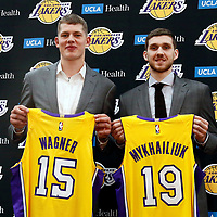 LA LAKERS  2018 DRAFT PICKS