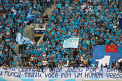 May 26, 2019 - Saint-Petersburg, Russia - Russian Federation. Saint-Petersburg. Gazprom-arena. Football. 30 tour of the Russian Premier League, Russian Premier League, Zenit - FC Yenisey, 4:1. Spectators; fans; fans; (Credit Image: © Russian Look via ZUMA Wire)
