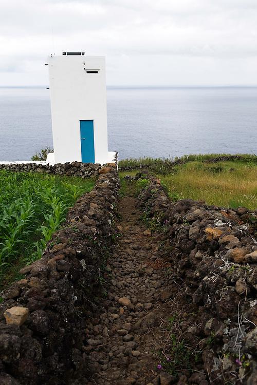 "The ""vigia"" tower on Pico island, Azores, Portugal"