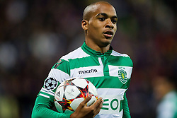João Mário of Sporting during football match between NK Maribor and Sporting Lisbon (POR) in Group G of Group Stage of UEFA Champions League 2014/15, on September 17, 2014 in Stadium Ljudski vrt, Maribor, Slovenia. Photo by Vid Ponikvar  / Sportida.com