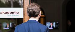 14.05.2017, Politische Akademie, Wien, AUT, ÖVP, Pressekonferenz nach Vorstandssitzung der Bundespartei anlässlich des Rücktritts von Parteichef und Vizekanzler Mitterlehner. im Bild künftiger Parteiobmann Sebastian Kurz // new party leader of the austrian peoples party Sebastian Kurz during press conference after board meeting of the austrian people' s party after resignation of Vice Chancellor and Partyleader Mitterlehner from all offices in Vienna, Austria on 2017/05/14. EXPA Pictures © 2017, PhotoCredit: EXPA/ Michael Gruber