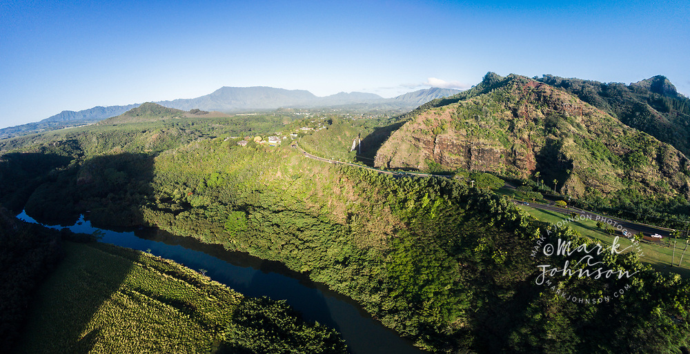 Aerial panorama photograph of <br />