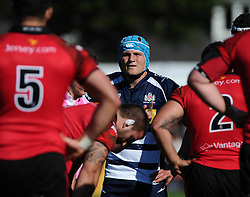 Bristol Rugby Flanker Olly Robinson  - Mandatory byline: Joe Meredith/JMP - 07966386802 - 26/09/2015 - RUGBY - St. Peter -Saint Peter,Jersey - Jersey Rugby v Bristol Rugby - Greene King IPA Championship