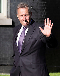 © Licensed to London News Pictures. 22/07/2019. London, UK. DUP MP Ian Paisley Junior arrives for Prime Minister Theresa May's farewell drinks reception at Downing Street.  Voting in the Conservative party leadership election ends today with the results to be announced tomorrow. Photo credit: Peter Macdiarmid/LNP