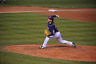 The Seattle Mariners defeated the Cleveland Indians 7-2 on April 29, 2008 at Progressive Field in Cleveland..Pitcher Masa Kobayashi of Cleveland.