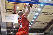 DESCRIZIONE : Campionato 2013/14 Dinamo Banco di Sardegna Sassari - Grissin Bon Reggio Emilia<br /> GIOCATORE : Greg Brunner<br /> CATEGORIA : Schiacciata<br /> SQUADRA : Grissin Bon Reggio Emilia<br /> EVENTO : LegaBasket Serie A Beko 2013/2014<br /> GARA : Dinamo Banco di Sardegna Sassari - Grissin Bon Reggio Emilia<br /> DATA : 08/12/2013<br /> SPORT : Pallacanestro <br /> AUTORE : Agenzia Ciamillo-Castoria / Luigi Canu<br /> Galleria : LegaBasket Serie A Beko 2013/2014<br /> Fotonotizia : Campionato 2013/14 Dinamo Banco di Sardegna Sassari - Grissin Bon Reggio Emilia<br /> Predefinita :