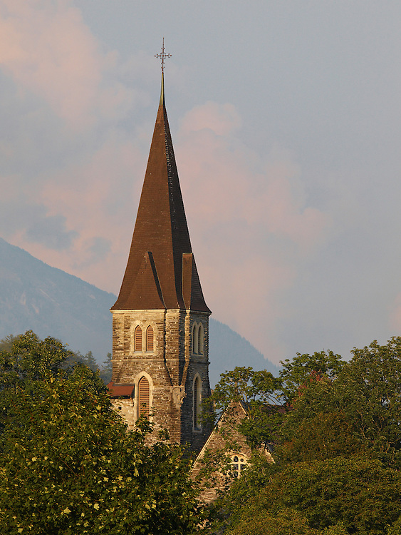 Switzerland - Church in Interlaken