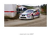 WRC PORTUGAL 2007 <br /> GARETH MACHALE<br /> FORD FOCUS WRC<br /> GARETH MACHALE TEAM