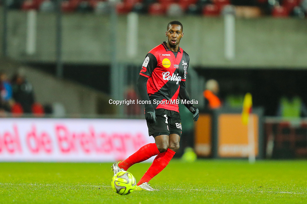 Younousse SANKHARE  - 03.12.2014 - Guingamp / Caen - 16eme journee de Ligue 1 <br /> Photo : Vincent Michel / Icon Sport