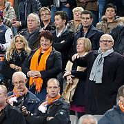 NLD/Amsterdam/20121114 - Vriendschappelijk duel Nederland - Duitsland, Charlotte Heitinga - Zenden en familie