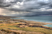 Colorful Sky and clouds in a winter day over the Dead Sea Dead sea photos