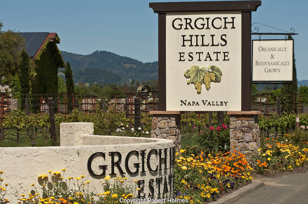 Grgich Hills Estate, Rutherford, Napa Valley