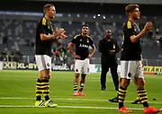 STOCKHOLM 2016-08-04<br /> KVAL TILL EUROPA LEAGUE AIK VS PANATHINAIKOS<br /> Ahmed Yasin i AIK deppar efter f&ouml;rlusten mot Panathinaikos under matchen mellan AIK och Panathinaikos p&aring; Tele2 Arena, torsdag den 4 augusti 2016.<br /> Foto: Nils Petter Nilsson/Ombrello<br /> ***BETALBILD***