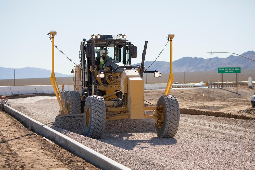 Highway Work along I-15