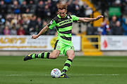 Forest Green Rovers Mark Roberts(21) during the EFL Sky Bet League 2 match between Notts County and Forest Green Rovers at Meadow Lane, Nottingham, England on 7 October 2017. Photo by Shane Healey.