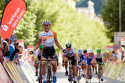 Marianne Vos (Rabo Liv) wins Thüringen Rundfarht 2016 - Stage 5 a 99km road race starting and finishing in Greiz, Germany on 19th July 2016.