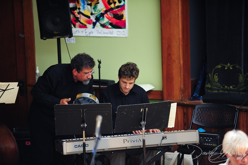 Paul Arslanian (L) and Composer/Keyboardist Jonny Peiffer