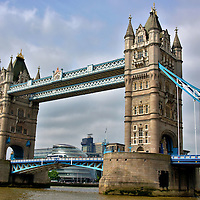 Tower Bridge in London, England<br />