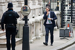 © Licensed to London News Pictures. 06/02/2018. London, UK. Chief Whip Julian Smith arriving in Downing Street to attend a Cabinet meeting this morning. Photo credit : Tom Nicholson/LNP